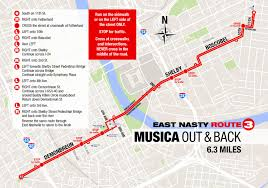 Map Your Running Route by East Nasty East Nashville Running Community