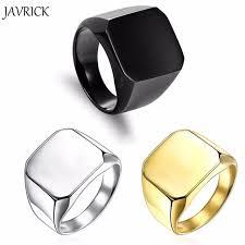men ring aliexpress buy fashion rings square big width signet rings