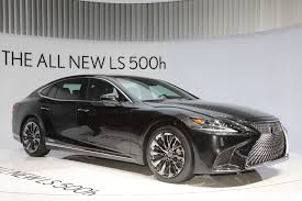 new lexus ls 2017 the 2018 lexus ls 500h is a cleaner big sedan automobile magazine