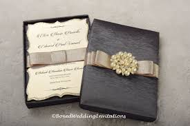 wedding invitations in a box wedding invitation box invitation box couture invitation
