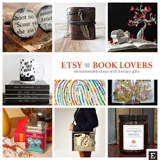 20 recommended etsy shops with bookish gifts