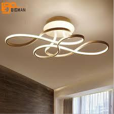 plafonnier design pour chambre simple design led plafond le moderne plafonnier l75 w37 h22cm