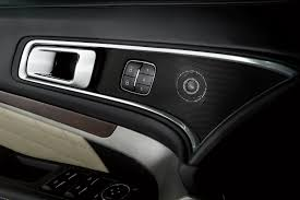 Ford Explorer Platinum - ford and sony bring premium home audio technology to 2016 ford