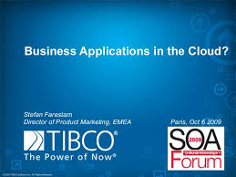 tibco silver at the soa forum in paris oct 6 2009