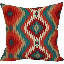 Southwest Outdoor Furniture by Mainstays Southwest Outdoor Toss Pillow Walmart Com