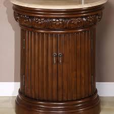 24 Bathroom Vanity With Drawers 24 Bathroom Vanity Single Sink Cabinet Chestnut