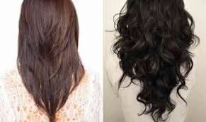 is v shaped layered look good for curly hair v shaped haircut curly hair the best haircut of 2018