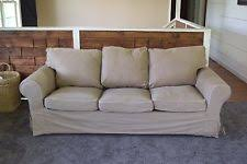 Ektorp 3 Seater Sofa Bed Cover Ikea Hagalund Slipcover Two Seat Sofa Bed Cover Idemo Beige Ebay