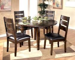 circle table with leaf round dining table for 6 with leaf medium size of dining dining