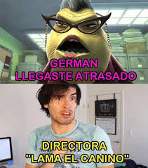 Hola Soy German Memes - dog funny hola soy german memes monsters inc image 4045655 by