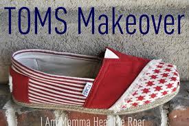 Flag Toms Ilovetocreate Blog Toms Shoe Makeover