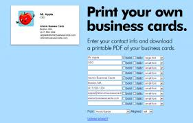 print free business cards free printable business card templates