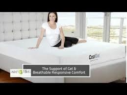classic brands cool gel 8 inch gel memory foam mattress youtube