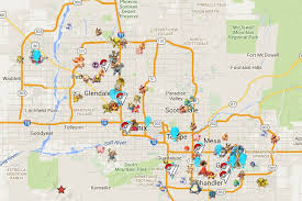 phx map valley pokémon go map helps you catch em all org