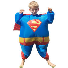 online get cheap superman inflatable costume aliexpress com