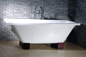 bathtub cast iron vs steel cast iron versus acrylic bath cast