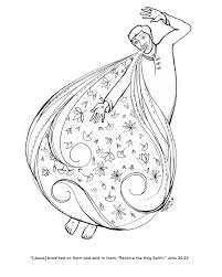 coloring pages for all angels u0027 church u2013 vesper stamper illustration