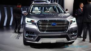 subaru suv sport this striking 7 seat concept previews subaru u0027s ascent suv for 2018