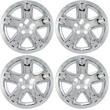 4 pc set 07 11 dodge nitro 17 u0026 034 chrome wheel skins hubcaps