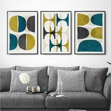 living room prints wall art set set of 3 prints abstract art print living room