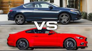 road test 2015 mustang 2016 honda accord coupe vs 2015 ford mustang ecoboost