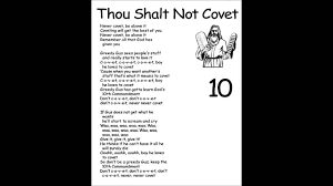 Thou Shall Craigslist by Thou Shalt Not Covet Commandment Number Ten With Loop Control