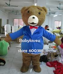 Ted Halloween Costume Buy Wholesale Ted Mascot Costume China Ted Mascot