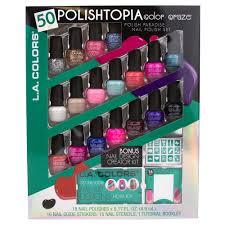 upc 081555413071 l a colors 50 pc polishtopia mini color craze