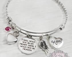 cremation jewelry bracelet handmade urn etsy
