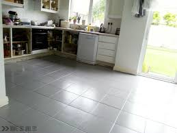 Paint Laminate Flooring Painted Tile Floor No Really Make Do And Diy