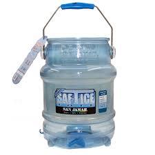 san jamar si6100 5 gallon saf t ice sanitary ice tote ice