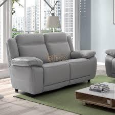 ensemble canape cuir ensemble salon 3 2 relax électrique cuir reconstitué vegas