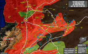 Map Of Al Army Advanced Into Militant Held Area West Of Al Seen Military Airbase