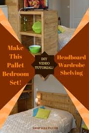 pallet bed headboards frames bedroom pallet ideas 1001 pallets