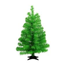 green 2ft artificial tree