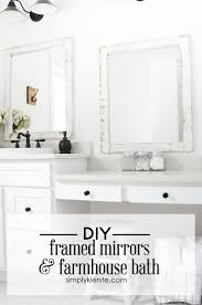 Bathroom Mirror Frame by 134 Best Mirrors And Mercury Glass Diys Images On Pinterest Diy