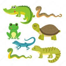 imagenes de animales y cosas conjunto de cosas animales salvajes vector de stock saenal78