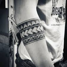 tribal armband tattoos for guys creativefan