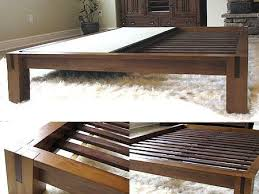 best 25 solid wood bed frame ideas on pinterest walnut bedroom
