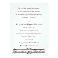 catholic wedding invitations catholic wedding invitations announcements zazzle