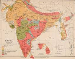 Geological Map File Geological Map Of India 1911 Jpg Wikimedia Commons