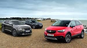 2017 Opel Crossland X Vs 2017 Citroen C4 Cactus Vs 2017 Peugeot