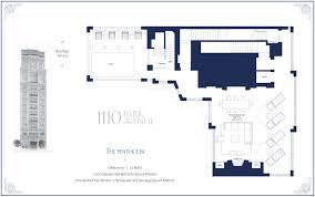 five bedroom floor plan 44m park ave penthouse has insane floorplan rooftop pool