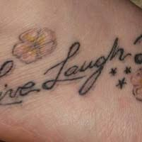 elegant love lettering wrist tattoo tattooimages biz