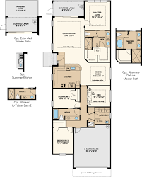 ranch floor plans with 3 car garage arezzo floor plan at esplanade golf u0026 country club at lakewood
