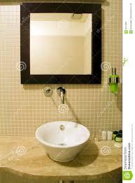 Bathroom Sink And Mirror Bathroom Sink And Mirror Stock Image Image Of Mirror 3071887