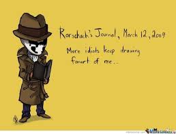 Meme Journal - rorschach s journal by kawaiii meme center