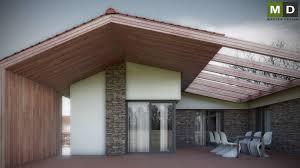 ground floor u shaped bungalow with a covered terrace slavkov u