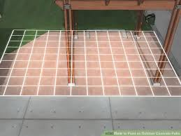 Painting Patio Pavers Paver Patio On Lowes Patio Furniture With Lovely Painting Concrete