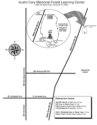 Austin Airport Map by Uf Sfrc 4 H Forest Ecology Contest